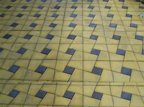 Пластиковая форма для плитки Секада