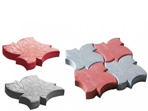 Пластиковая форма для плитки Кленовый лист
