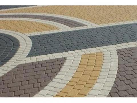 Форма для изготовления тротуарной плитки Брук (камень) №2 6 см