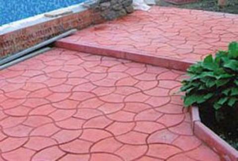 Форма для изготовления тротуарной плитки КОРОНА