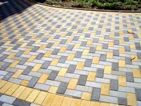 Форма для производства тротуарной плитки Брусчатка 4 см