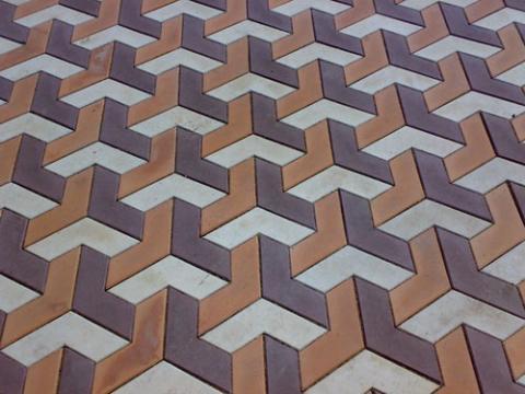 Форма для тротуарной плитки Бумеранг