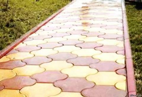 Форма для тротуарной плитки ЧЕРЕПАШКА