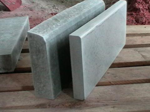 Форма для изготовления бордюров