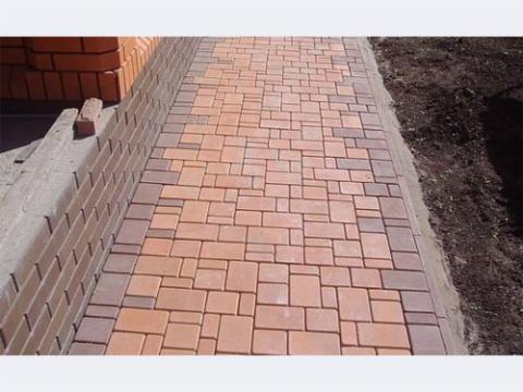 Форма для изготовления тротуарной плитки МОСТОВАЯ (Большая) №2