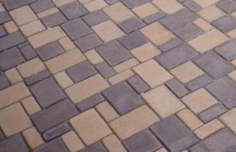 Форма для изготовления тротуарной плитки МОСТОВАЯ (Большая) №1