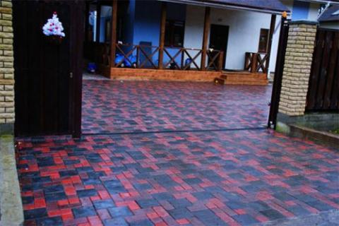 Форма для изготовления тротуарной плитки МОСТОВАЯ (Большая) №3