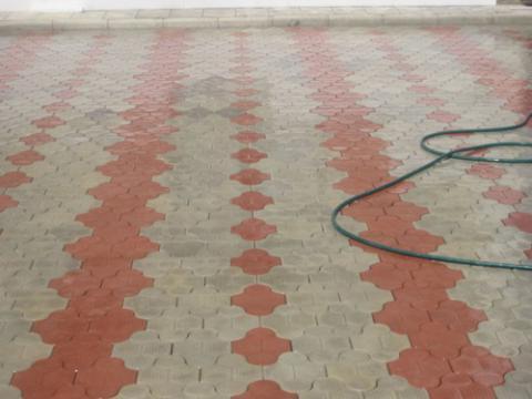 Форма для тротуарной плитки Клевер Рельефный