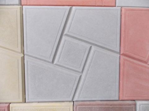 Форма для изготовления тротуарной плитки Секада
