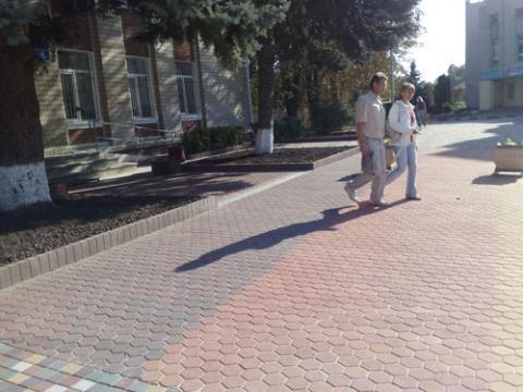 Форма для тротуарной плитки Соты