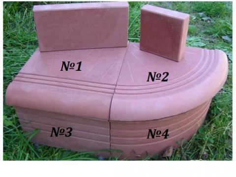 Пластиковые формы для ступеней