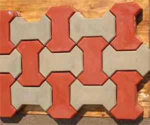 Форма для изготовления тротуарной плитки ТАМАГАВК