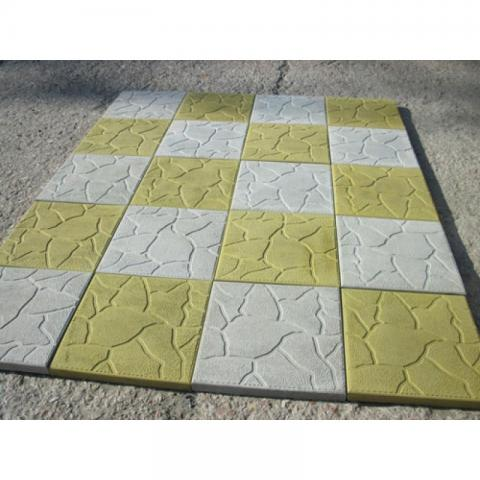 Форма для изготовления тротуарной плитки Тучка (4 см)