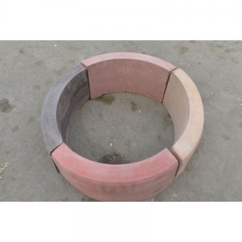 Форма для производства поворотного бордюра